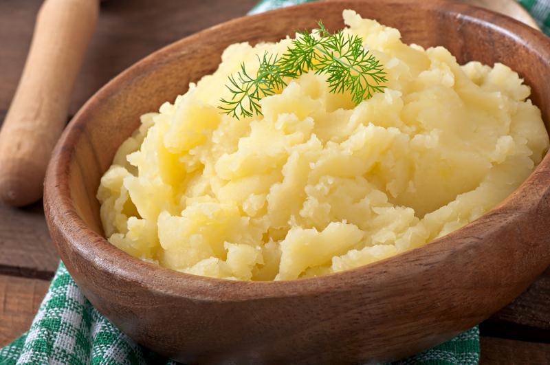 Mashed Potatoes 'N Gravy; Individual Serving