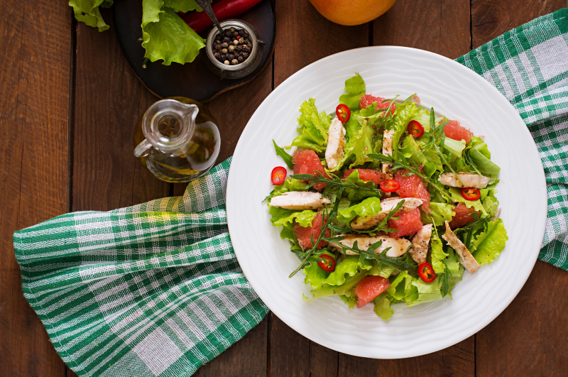 Strawberry-Fields-Salad-with-Grilled-Chicken-and-Raspberry-Vinaigrette